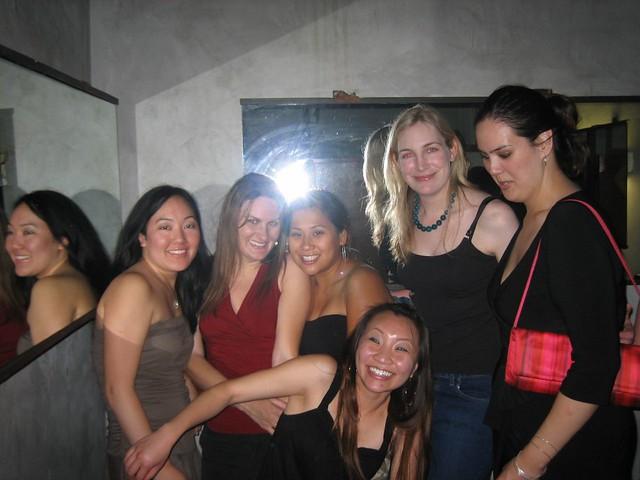 Drunk girl train