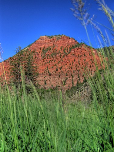 blue red mountains green nature beauty field grass ilovenature sandstone colorado eagle scenic vivid hdr photomatix tonemapped