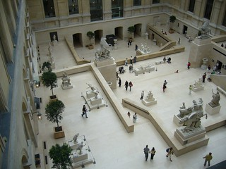 Birdseye view of the French sculpture section   by claytron