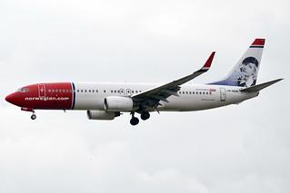 Norwegian (Greta Garbo livery), LN-NOM, Boeing 737-86N | by Anna Zvereva