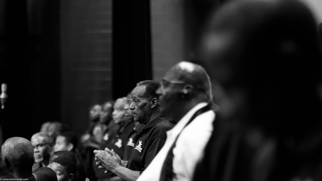 100 Men In Black preparing for concert