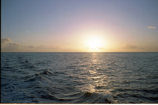 Sunset, St Lucia