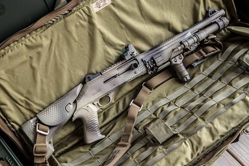 Benelli M4 Snake Camo