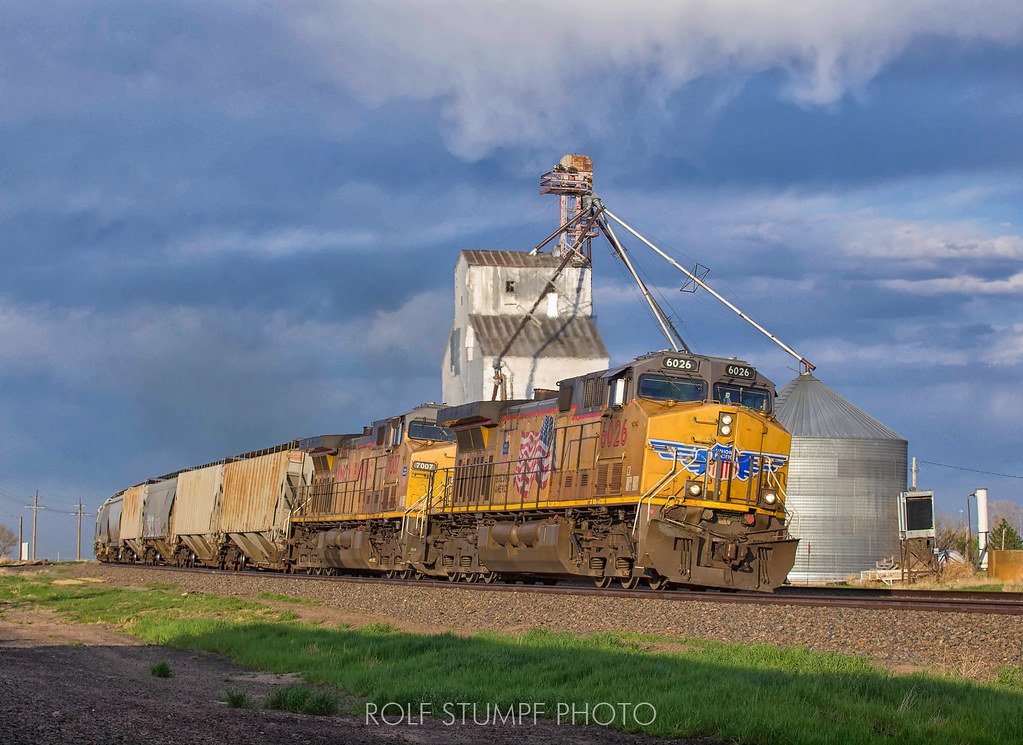 Pine Bluffs Wy >> Pine Bluffs Wy This Union Pacific Grain Unit Train Doesn
