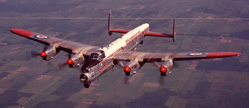 Avro-Lancaster--RCAF-post-war--SAM-Photo | by Vintage Parachute Gear