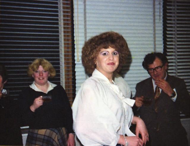 IMS Staff Redcar Teeside Maria Poulter & Gordon White 1980 123