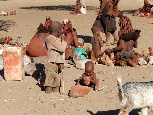 Opuwo - himba dorp 9