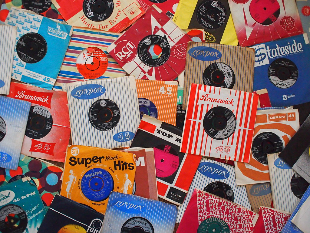 Dad's old 45s | record sleeves from brunswick london pye sta