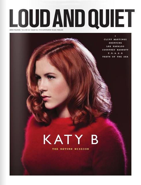 Katy B for Loud & Quiet Magazine