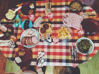 Thankful table   by brungrrl