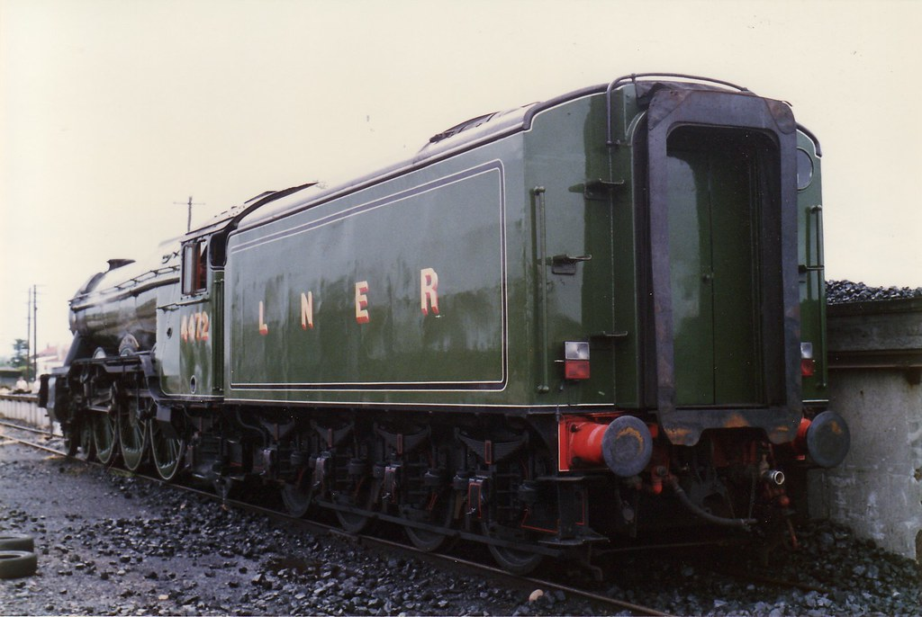 Flying Scotsman Steamfest 1989 3 by LC1073