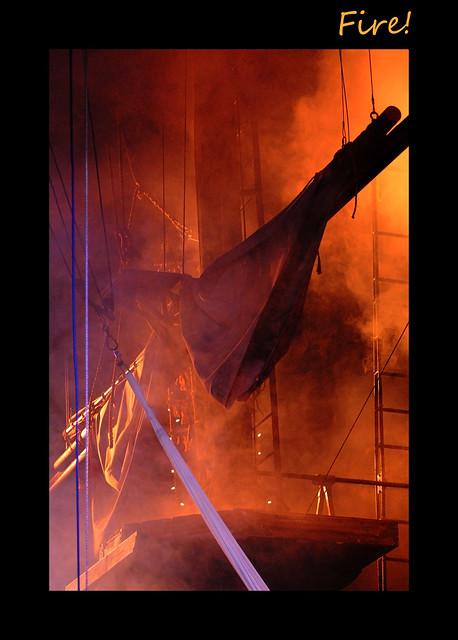 Fire on Board!