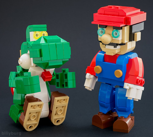 yoshi and mario  i'm sure many of you will have seen