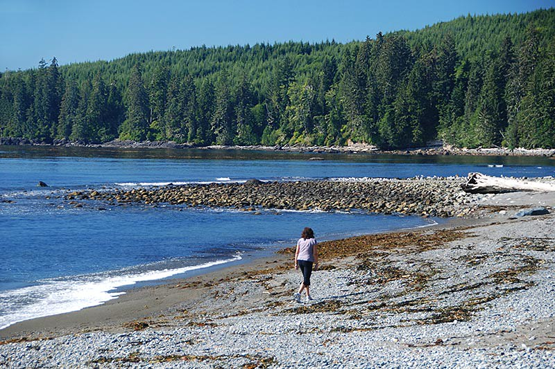 Sombrio Beach, Juan de Fuca Provincial Park, Port Renfrew, British Columbia, Canada