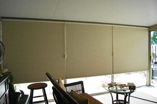 Cellular shades blackout