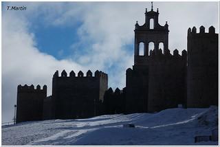 Avila en invierno. | by Tomás Martín.