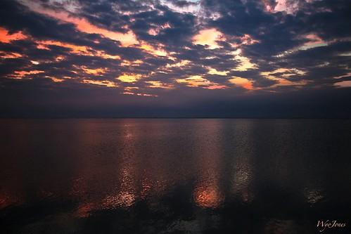 sunset water clouds bay texas np cloudscape christmasbay brazoriacounty bluewaterhighway wyojones folletsisland countyboatlanding amigolane cord2575 texasstatehighway257
