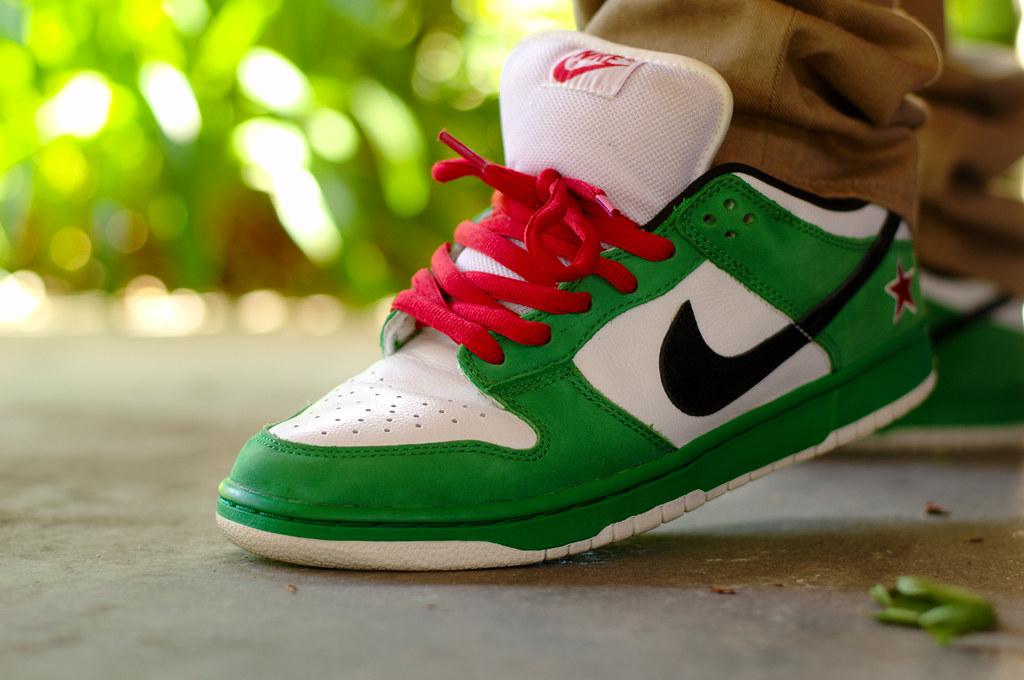 watch 105f0 7a731 Nike Dunk Low SB Heineken   Nike Dunk Low SB Heineken   Flickr