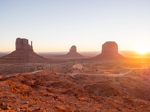 Sunrise over Monument Valley | by chris nelson dot ca