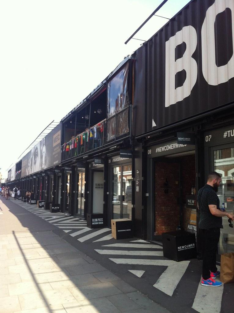 Shoreditch High Street: Pop Up Shops At Shoreditch High Street Overground Station