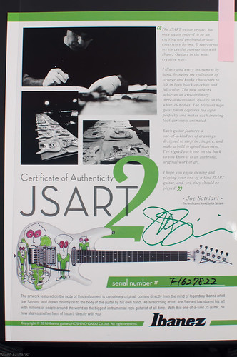 Ibanez JSART2 | by wired.guitarist