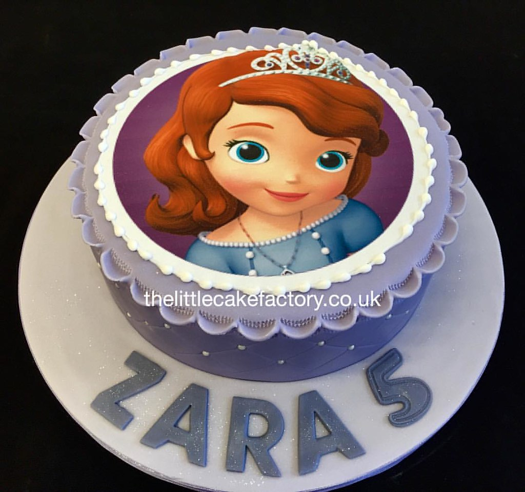 Enjoyable Princess Sofia Birthday Cake Order From Our Cakeshop 0 Flickr Funny Birthday Cards Online Elaedamsfinfo