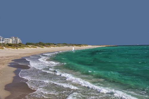 fremantle southbeach perth westernaustralia australia indianocean sailing sail boat day clear beach shore water nikond810 googlenik