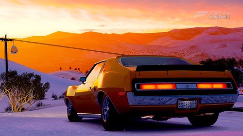 FH3 1971 AMC Javelin AMX, Blizzard Mountain, Painted Mountain | by Sp33dyKat