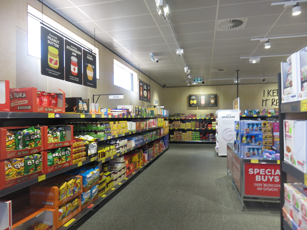 Aldi Golden Grove first weeks | Built on the site of an AMF