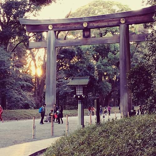ifttt instagram japan tokyo meiji shrine prayers