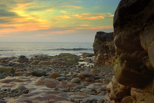 ocean sea sunrise rocks massachusetts newengland northshore gloucester rockyneck sonyalpha