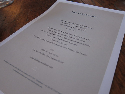 The Clove Club | by tehbus