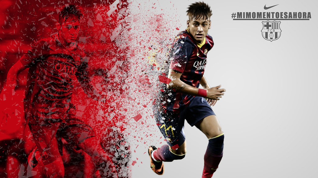 Neymar Barcelona 2013 Nike Wallpaper Addison Ashcraft Flickr