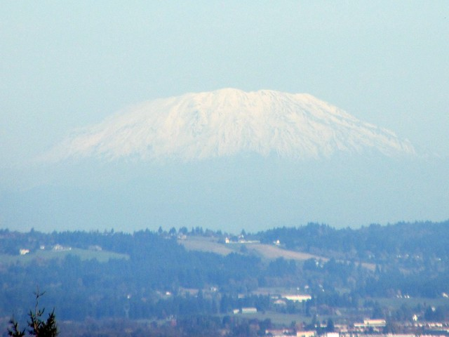 Mount St. Helens from Chehalem Ridge