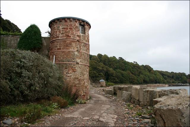 Tower west of West Wemyss