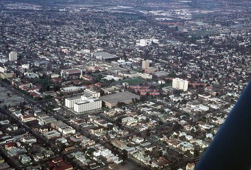 San Jose State University: Aerial view, 1984 (1)