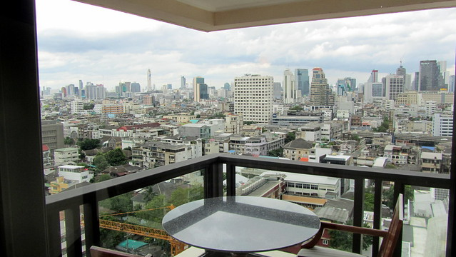 View from the Mandarin Oriental, Bangkok