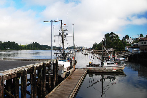 Whiskey Dock, Ucluelet, West Coast Vancouver Island, British Columbia