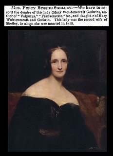 1st February 1851 - Death of Mary Shelley | by Bradford Timeline