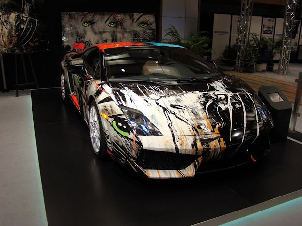 Lamborghini Gallardo Bicolore Art Car by LISABEL