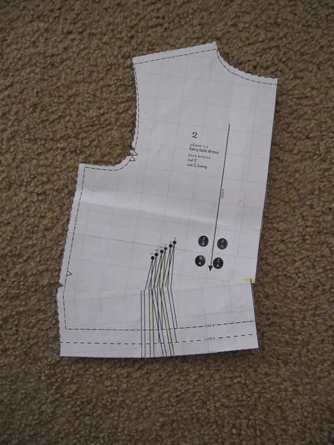 back bodice sway back adjustment