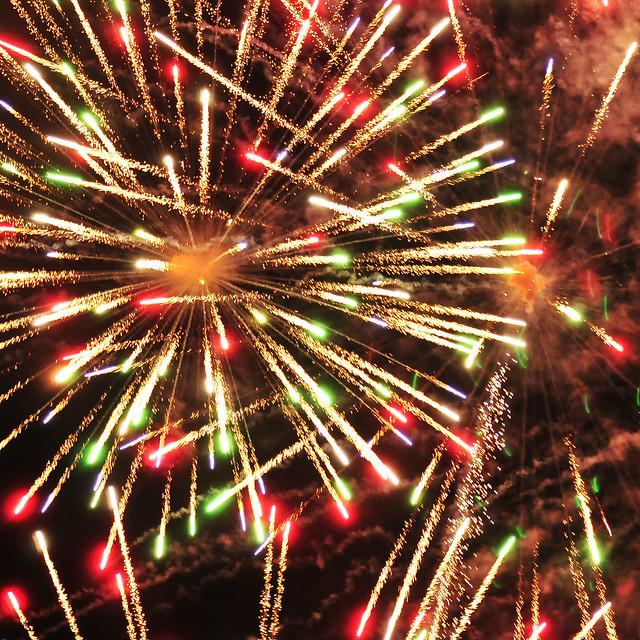 Victoria Day fireworks . . .