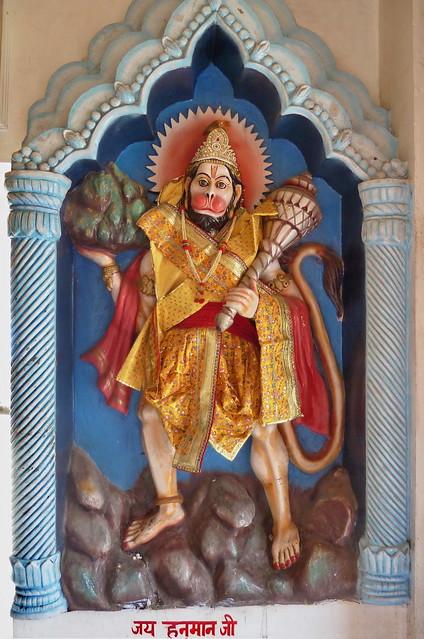 India - Himachal Pradesh - Dharamsala - Shiva Krishna Temple - Hanuman