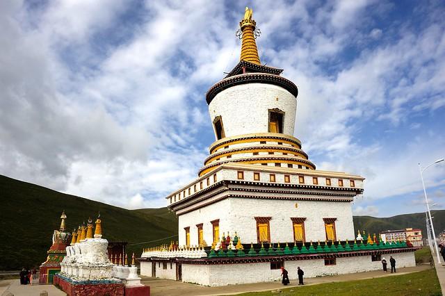 Chörten Gön, Tibet 2013