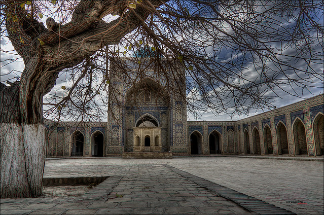 Mezquita Kalon, Bukhara