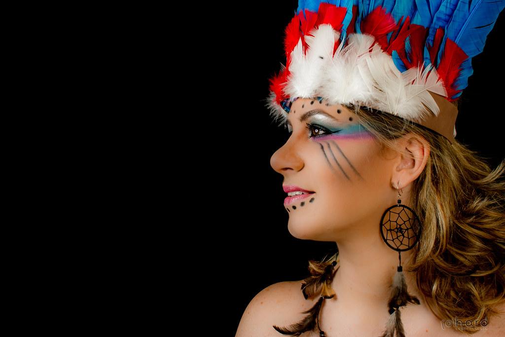 Existem cerca de 70 aldeias de índios Xavantes somente no estado de Mato Grosso!   #hardphotography #mulheresdepindorama #portrait #portraitfestival #makeup #indian #native #brazilianindian #culture #brazilianculture #authorial #photography #studio #photo