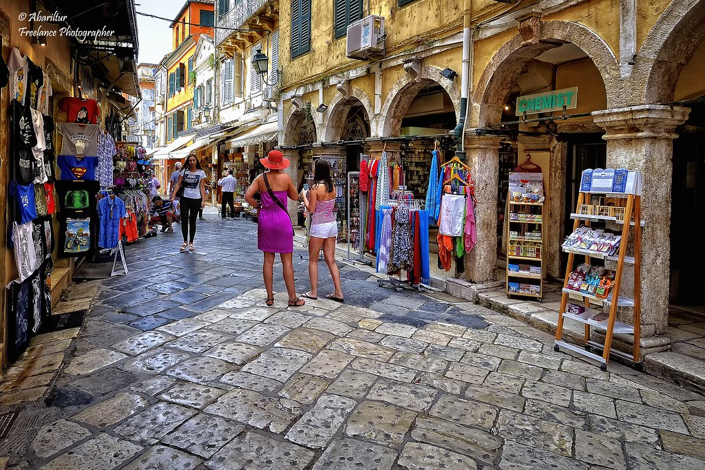 The Bazaar of Corfu Old Town (I) | Corfu offers a large vari… | Flickr