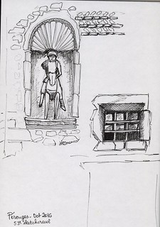 Sketchcrawl 53 - Pérouges 1 | by meinna38