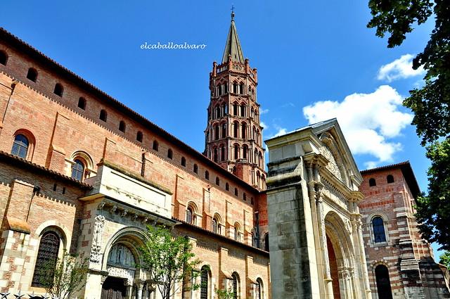 494 - Lado Sur - Basílica Saint Sernin -Toulouse (France).