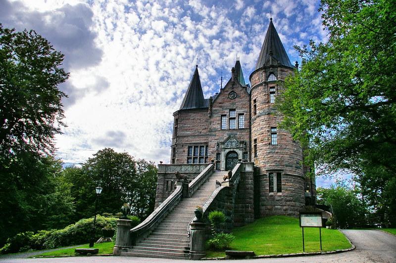 Domkyrkan och Teleborg Slott MStudio portrttfotograf